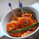 recette carottes marinées pour l'apéro