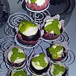 recette Cupcakes cacao fourré a l'orange curd