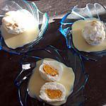 recette Ile flottante coeur moelleux à l'orange (régime dukan)