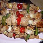 recette Brochettes de gigot au thym