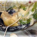 recette Gratin de chou fleur et brocolis aux fromages