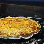 recette Ma tarte aux Poireaux Thon Oignons & Fromage
