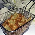 recette Chips de lasagne au parmesan