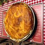 recette tourte jambon, raclette