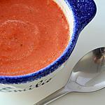 recette Soupe de poivrons rouges