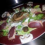 recette Salade Féstive de Noel