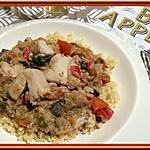 recette Filets de poulet et son Curry de légumes