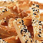 recette Petits biscuits sales au parmesan
