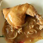 recette Poulet sauce carbonnade