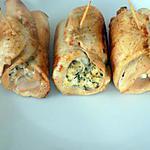 recette Saltimbocca au bacon(régime dukan)