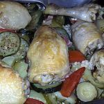 recette Poulet au légumes