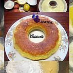 recette Gâteau crème citronnée.