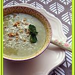 recette Soupe de Courgettes à la Menthe