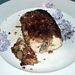 recette Cordon bleu poivre et champignons ( régime dukan)