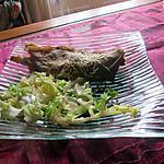 recette galette  de  blé noir    aux asperges   recette revisitée de carmen