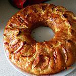 recette Gâteau au yaourt et pommes