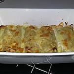 recette Roulé de lasagne au mascarpone