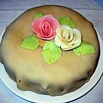 recette Gâteau massepain et vanille