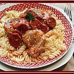 recette Filet mignon au Chorizo et Moutarde à l'ancienne