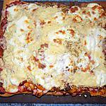 recette Maxi-pizza chorizo/poivrons