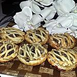 recette Minis tartes champignons de paris lard camembert
