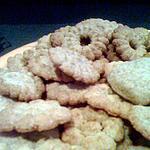 Biscuits sablés au presse biscuits