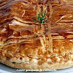 recette Tourte aux poireaux Pétoncle et rouget