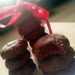 """recette Cookies nutellaté avec seulement """"3 ingrédients"""""""