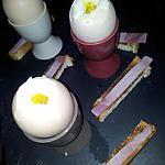 recette Oeufs à la coque et ses mouillettes