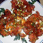 recette Cotes de porc aux épices colombo
