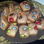 recette Minis cakes Nutella mascarpone m&m's