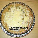 recette Quiche sans pâte au thon,au mais et aux olives