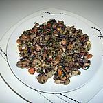 recette FRUITS DE MER A LA PERSILLADE