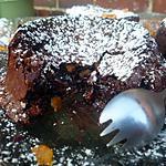 recette mit cuit au chocolat et à l'orange confites