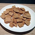 recette sablé apéritif fromage et graine de pavot