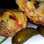 recette Byrek à la viande, courgette et pommes de terre