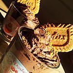 recette Mousse au chocolat *à la créme fouetté* biscuitée