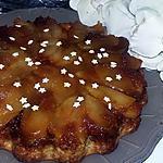 recette Gâteau renversé pomme poire