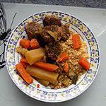recette Couscous au boeuf (régime dukan)