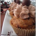 recette Cupcakes aux boules de Lait Malté