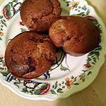recette Muffins noisette-choco-caramel