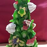 recette Sapin de noël en bonbons....
