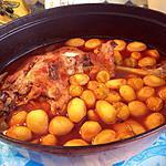 recette cuisse de d'inde et  petites pommes de terre