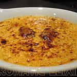 recette Crème brûlée de foie gras et figue au Porto rouge
