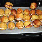 recette Mini-buns au saumon (régime dukan)