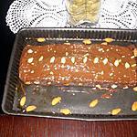 recette cake café chocolat