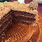 recette Layer cake Ferrero