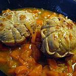 recette Paupiettes de veau  carottes