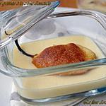 recette Poire gratinée à la crème d'amande