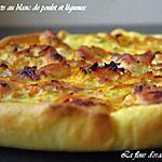 recette Tarte au blanc de poulet et légumes